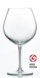 【グッドデザイン賞受賞】ワイングラス (6個セット) 食洗器可 ファインクリスタル(東洋佐々木ガラスが開発した鉛を含まない新素材のクリスタルガラス) イオンストロング(高耐アルカリ性 高耐久性 高対傷性)