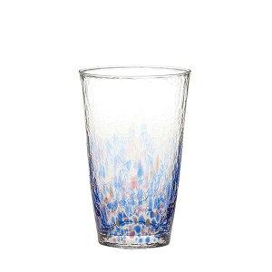 水の彩[みずのあや]タンブラー(空の彩)(1個セット) 【東洋佐々木ガラス】CN17708-D02ハンドメイド全面強化ファインクリスタル【水の風景 自然 強度アップ 日本製 ビール 焼酎 ジュース ハ
