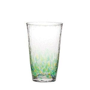 水の彩[みずのあや]タンブラー(森の彩)(1個セット) 【東洋佐々木ガラス】CN17708-D04ハンドメイド全面強化ファインクリスタル【水の風景 自然 強度アップ 日本製 ビール 焼酎 ジュース ハ