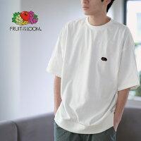 FRUITOFTHELOOMBLACKEDITIONHEAVYTシャツ(胸ワッペン)