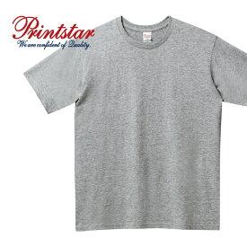 Tシャツ メンズ 半袖 無地 Printstar プリントスター 5.0オンス ベーシックTシャツ 00086-DMT スポーツ ダンス 運動会 文化祭 イベント お揃い ユニフォーム