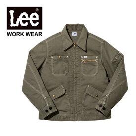 ジャケット Lee (リー) ジップアップジャケット lwb03002 ジージャン ジャケット ショート丈 カジュアル アメカジ ストレッチダック