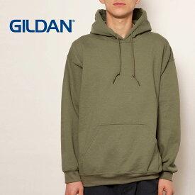 パーカー メンズ 長袖 Gildan ギルダン 8.0オンス ヘビーブレンド プルオーバーパーカー 18500 アメリカンフィット プルオーバー 裏起毛 かぶりパーカー