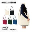 MARKLESS STYLE(マークレススタイル)|キャンバスWスタイルバッグ tr0408