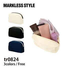 MARKLESS STYLE(マークレススタイル) キャンバスファスナーポーチ(S) tr0824