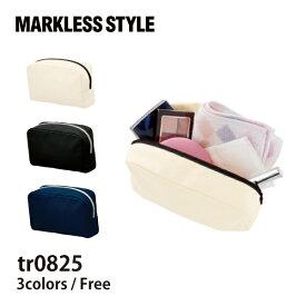 MARKLESS STYLE(マークレススタイル)|キャンバスファスナーポーチ(M) tr0825