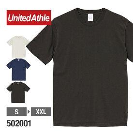 Tシャツ メンズ 半袖 無地 United Athle(ユナイテッドアスレ) | 5.6オンス ピグメントダイ Tシャツ 502001
