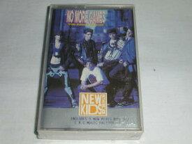 (カセットテープ)NEW KIDS ON THE BLOCK NO MORE GAMES [輸入盤] 未開封【中古】