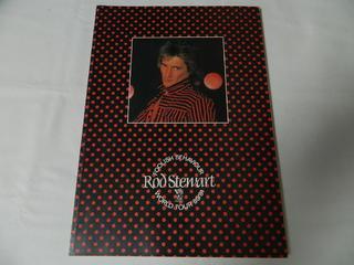 〇(パンフ)Rod Stewart FOOLISH BEHAVIOUR WORLD TOUR 80/81 ロッド・スチュワート【中古】