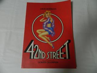 〇(パンフ)DAVID MERRICK'S 42ND STREET GOWER CHAMPION【中古】