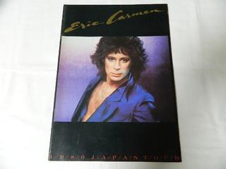 〇(パンフ)ERIC CARMEN エリックカルメン 1980 JAPAN TOUR【中古】