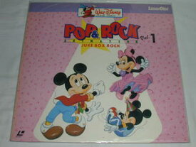 (LD:レーザーディスク)ディズニー POP&ROCK Vol.1 ANIMATION JUCK BOX ROCK【中古】