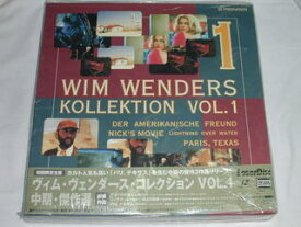 (LD:レーザーディスク)ヴィム・ヴァンダース・コレクション VOL.1 中期・傑作選【中古】