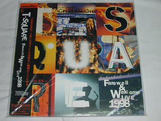 (LD:レーザーディスク)T-SQUARE Farewell&Welcome Live1998【中古】