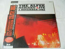 (LD:レーザーディスク)アルフィー THE ALFEE MEIGAKU LIVE 3 NOVEMBER 1987【中古】
