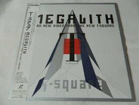 (LD:レーザーディスク) T-スクェアー/MEGALITH BRAND NEW VIDEO FROM THE T-SQUARE【中古】