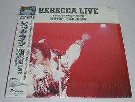 (LD:レーザーディスク) レベッカ・ライヴ/MAYBE TOMORROW 【中古】
