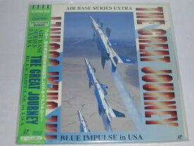 (LD:レーザーディスク)AIR BASE SERIES EXTRA THE GREAT JOURNEY BLUE IMPULSE in USA【中古】【2sp_121225_red】