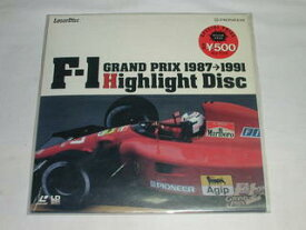 ☆(LD-SINGLE 薄型20cm)F-1 GRAND PRIX 1987-1991 Highlight Disc【中古】