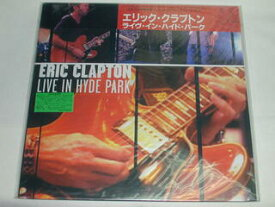 (LD:レーザーディスク)エリック・クラプトン ERIC CLAPTON/LIVE IN HYDE PARK【中古】