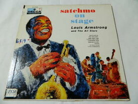 (LP)ルイ・アームストロング Louis Armstrong and The All Stars/サッチモ オン ステージ satchmo on stage【中古】