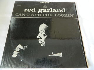 (LP)RED GARLAND/CAN'T SEE FOR LOOKIN'【中古】