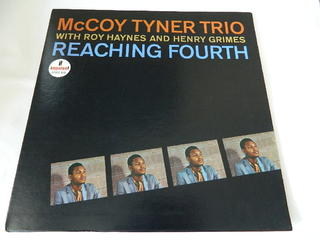 (LP)McCOY TYNER TRIO With Roy Haynes And Henry Grimes REACHING FOURTH【中古】