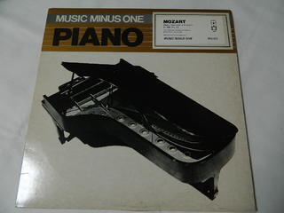 (LP)Music Minus One Piano MOZART Piano Concert in A major K.488,No.23【中古】