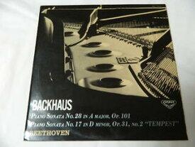 (LP)ベートヴェン ピアノ奏鳴曲 第28番 第17番《テンペスト》 バックハウス(ピアノ)【中古】