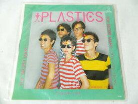 (EP)プラスチックス PLASTICS/「トップ・シークレット・マン TOP SECRET MAN」「デリシャス DELICIOUS」【中古】
