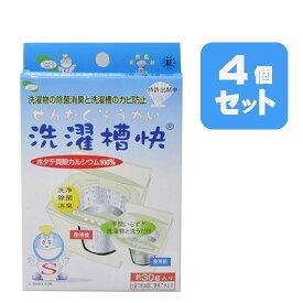 洗濯槽快30g×4個セット 送料無料