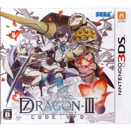 【新品】【3DS】【ゲームソフト】セブンスドラゴン3code:VFD【誕生日】プレゼントに★