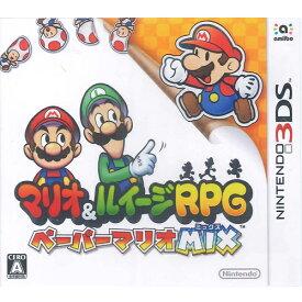 【新品】3DSゲームソフト マリオ&ルイージRPG ペーパーマリオMIX