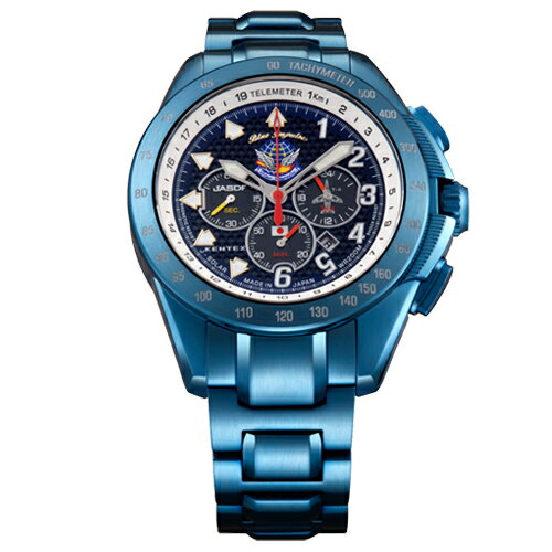 【ポイント10倍】【Kentex】【送料無料(※一部地域除く)】ブルーインパルスSP腕時計 「T-4」20周年記念モデル★プレゼント/誕生日★