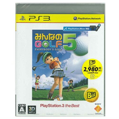 【新品】【PS3】ゲームソフト★みんなのGOLF5 PS3theBest【誕生日】プレゼントに★