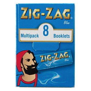 ZIGZAG手巻きタバコ用ペーパー ジグザグ・マルチパック ブルー#78812