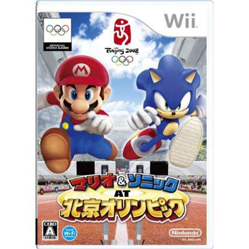 【新品】【Wii】ゲームソフト★SALE★マリオ&ソニックAT北京オリンピック【誕生日】プレゼントに★