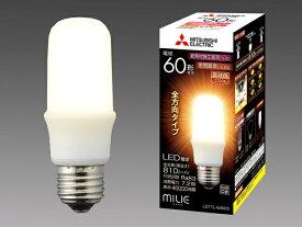 三菱電機 ランプLED電球 T形一般電球60形 7.2W 電球色LDT7L-G/60/S