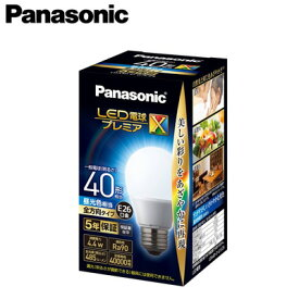 パナソニック Panasonic ランプLED電球プレミアX 一般電球タイプ断熱材施工器具対応 全方向タイプ 4.4W E26口金 電球40形・昼光色相当LDA4D-D-G/S/Z4