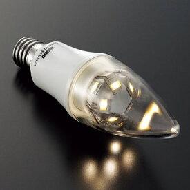 ME99781-99LDC4 E17 非調光 4W形LDC4L-G-E17/27/4シャンデリア球形 クリア 2700K 電球色マックスレイ ランプ