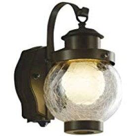AUE647096エクステリア LEDポーチ灯人感センサ タイマー付ON-OFFタイプ 非調光 電球色 防雨型 白熱球40W相当コイズミ照明 照明器具 門灯 玄関 屋外用照明