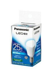 【当店おすすめ!お買得品】Panasonic ランプLED電球 小形電球タイプ 2.9W下方向タイプ E17口金 25形・昼光色相当LDA3D-H-E17/E/W