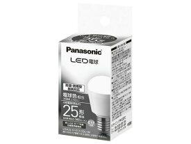 パナソニック Panasonic ランプLED電球 小形電球タイプ 3.4W下方向タイプ E17口金 25形・電球色相当LDA3L-H-E17/25E/W