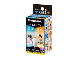 パナソニック Panasonic ランプLED電球 小形電球タイプ 光色切替タイプ ダイニング向けE17口金 小形電球40形相当LDA6-G-E17/KU/DN/S/W