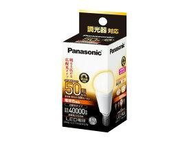 パナソニック Panasonic ランプLED電球 小形電球タイプ 6.4W断熱材施工器具対応 広配光タイプ E17口金 50形・電球色相当 調光器対応LDA6L-G-E17/K50/D/S/W