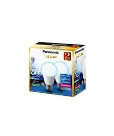 パナソニック Panasonic ランプLED電球 一般電球タイプ 7.3W広配光タイプ E26口金 電球60形・昼光色相当 2個セットLDA7D-G/K60E/S/W/2T