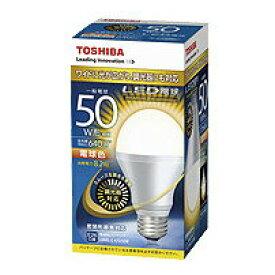 LDA8L-G-K/D/50WLED電球 一般電球形 密閉型器具対応 8.2W調光器対応 50W形相当 電球色 E26東芝ライテック ランプ