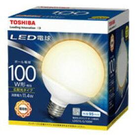LDG11L-G/100WLED電球 ボール電球形 11.4W100W形相当 電球色 E26東芝ライテック ランプ