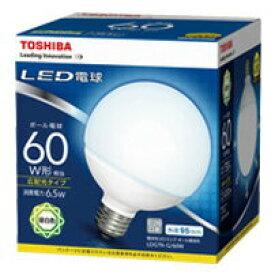 LDG7N-G/60WLED電球 ボール電球形 6.5W60W形相当 昼白色 E26東芝ライテック ランプ