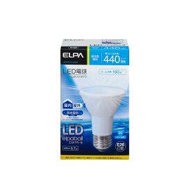 ELPA 朝日電器 LED電球エルパボール ビームタイプ 5.7W昼光色相当 E26LDR6D-W-G052